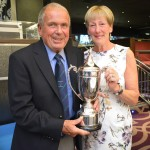 Club Captain Peter Graham with his wife Pam